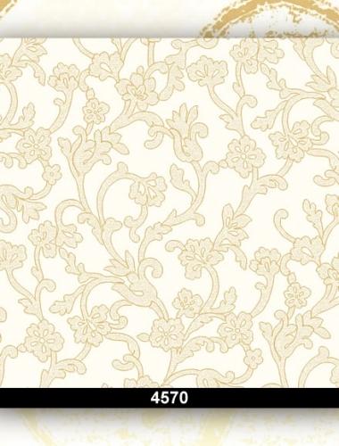 Tapet lavabil floral pentru dormitor si living 4570