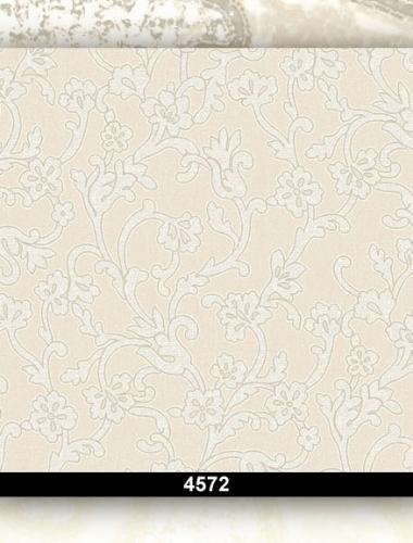 Tapet lavabil floral pentru dormitor si living 4572