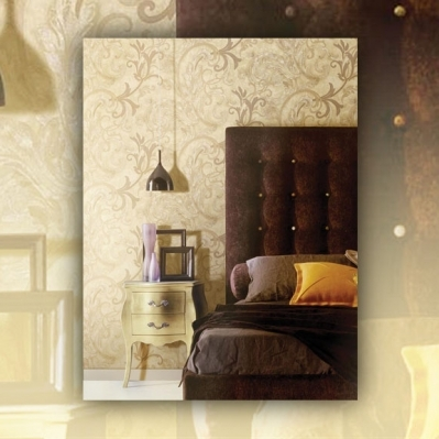 Tapet din vinil lavabil pentru living si dormitor gama ANGELICA productie PARATO Italia