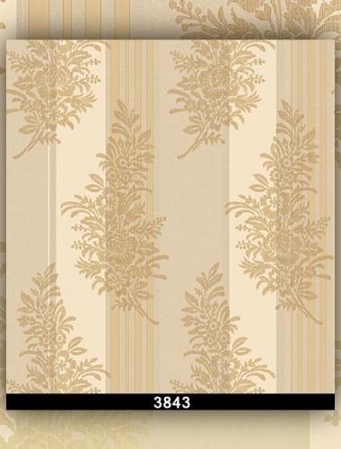Tapet lavabil model clasic culoare maro deschis gama DESIDERIA cod 3843