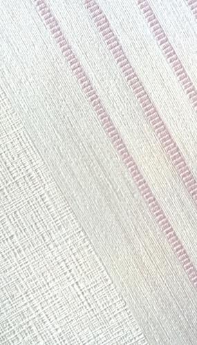 Tapet lavabil model cu dungi roz gama DESIDERIA