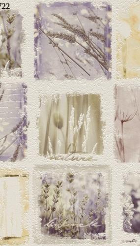 Tapet lavabil pentru bucatarie flori de levantica cod TM884722