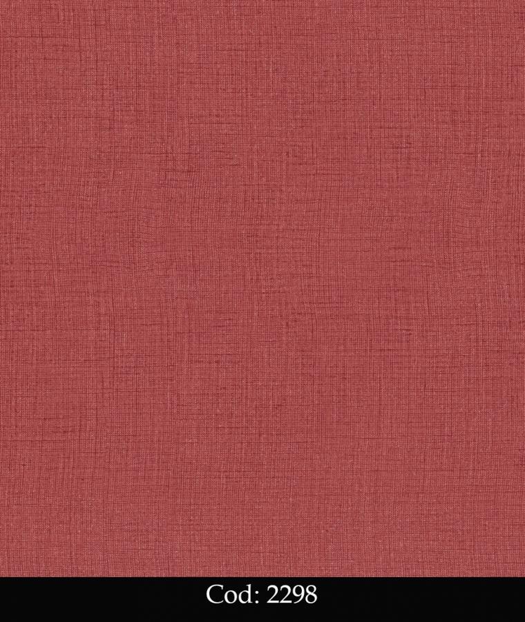 Tapet lavabil rosu simplu pentru copii cod 2298 gama BIM BUM BAM - BLISS ART