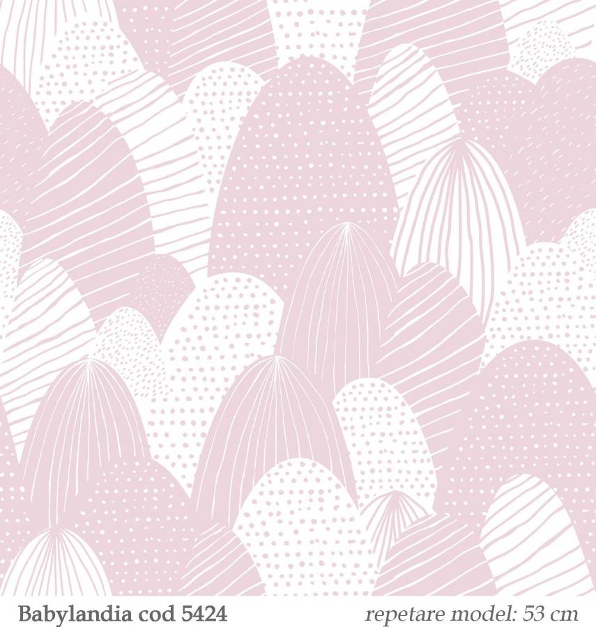 Tapet-lavabil-roz-pentru-copii--gama-Babylandia-cristiana-masi-cod-5424