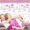 Tapet roz din vinil pentru fetite gama CIAO BIMBI