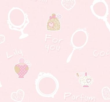 Tapet-lavabil-roz-pentru-fetite-gama-FAVOLA-cod-3211