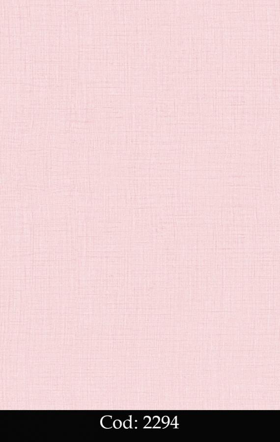 Tapet lavabil roz simplu pentru copii cod 2294 gama BIM BUM BAM - BLISS ART