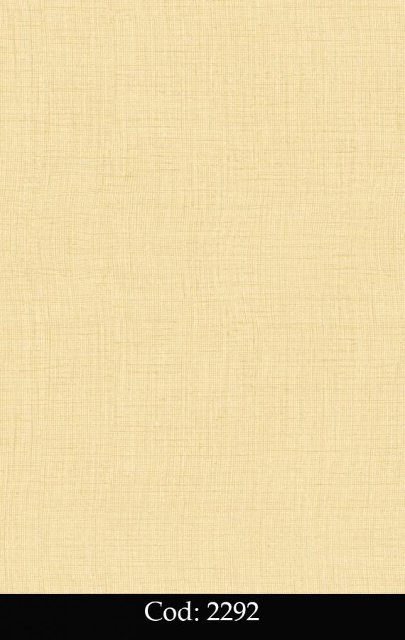 Tapet lavabil simplu galben pentru copii cod 2292 gama BIM BUM BAM - BLISS ART