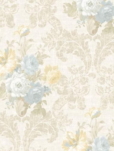 Tapet lavabil stil baroc Villa Medici cod VMB-004-112-2
