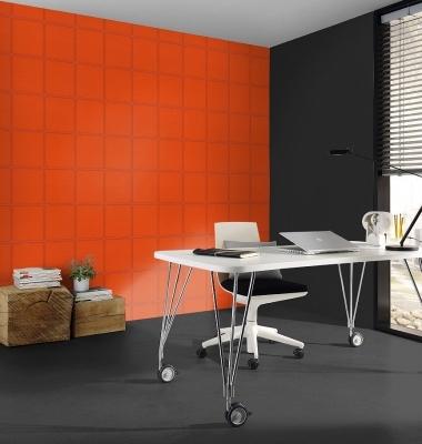 Tapet-orange-imitatie-piele--gama-COSMOPOLITAN-productie-RASCH
