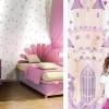 Tapet roz lavabil pentru fetite gama CIAO BIMBI