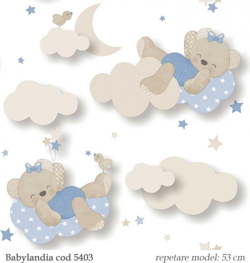 Tapet-pentru-copii-model-cu-ursuleti-Babylandia-Cristiana-Masi-cod-5403