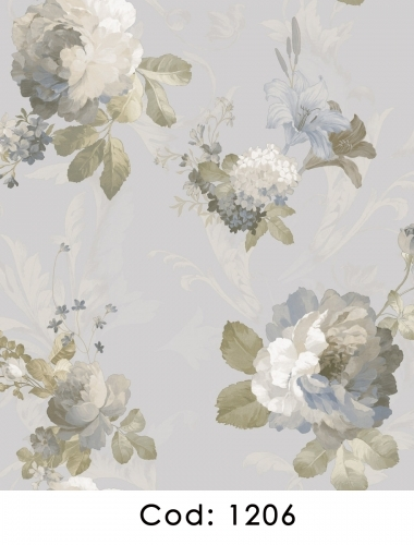 Tapet-pentru-dormitor-flori-albastre-gama-CARLOTTA-cod-1206