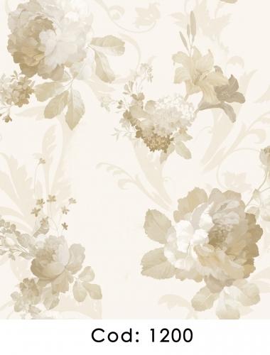 Tapet-pentru-dormitor-flori-crem-gama-CARLOTTA-cod-1200