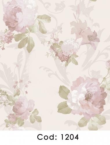 Tapet-pentru-dormitor-flori-roz-gama-CARLOTTA-cod-1204