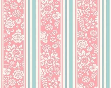 Tapet-roz-cu-dungi-turcoaz-pentru-copii-gama-JACK-N-ROSE-cod-JR4102