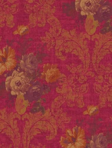 Tapet stil baroc visiniu  Villa Medici cod VMB-004-08-4