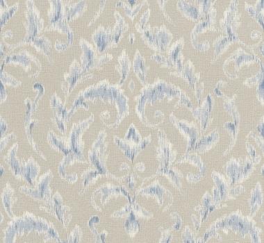 Tapet-stil-clasic-bej-cu-albastru-gama-FLORENTINE-2-cod-449938