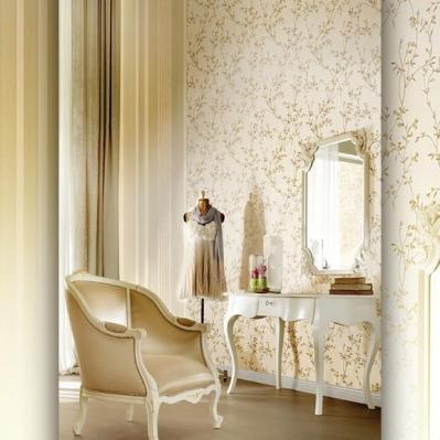 Tapet superlavabil cu flori pentru dormitor si living gama DESIDERIA