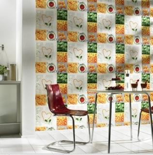 Tapet lavabil pentru bucatarie gama TILES & MORE