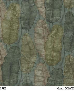 Tapet-verde-cu-frunze-Cristiana-Masi-gama-CONCETTO-cod-9805