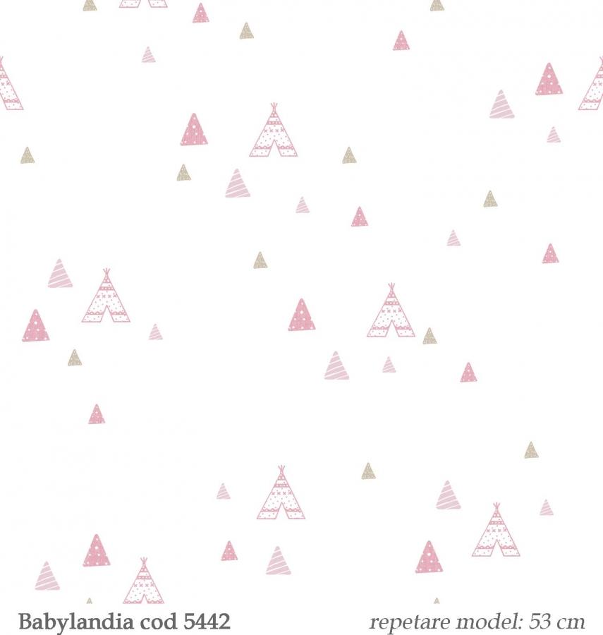 Tapet-vinil-pentru-copii--gama-Babylandia-cristiana-masi-cod-5442