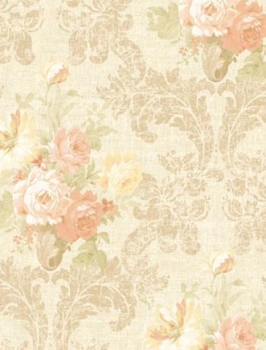 Tapet vintage cu trandafiri  Villa Medici cod VMB-004-03-9