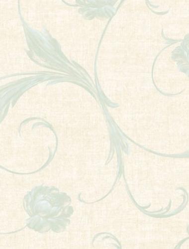 Tapet vintage flori albastre Villa Medici cod VMB-001-101-9