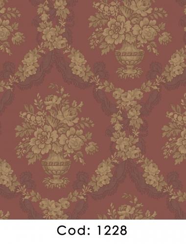 Tapet-visiniu-stil-baroc-pentru-dormitor-si-living-gama-CARLOTTA-cod-1228