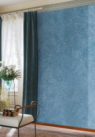 Tencuiala-decorativa-San-Marco-albastru-si-alb-Decori-Classici