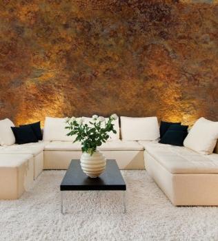 Tencuiala decorativa cu aspect metalic gama ROXIDAN San Marco