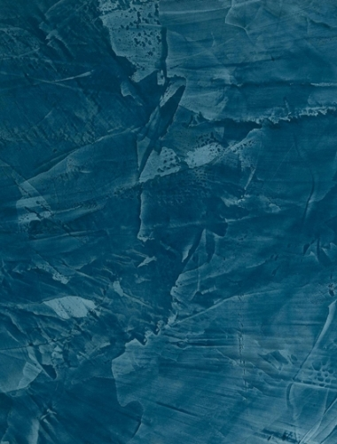Vopsea decorativa lucioasa pentru interior Stucco Veneziano culoare albastru productie San Marco Italia