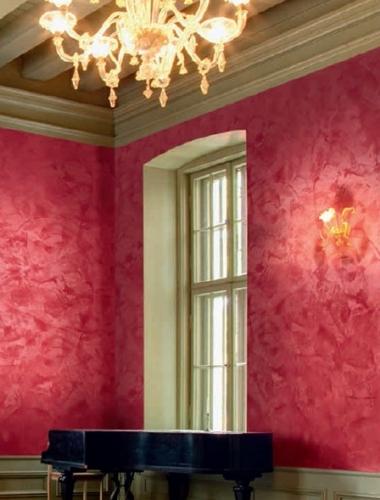 Vopsea decorativa lucioasa pentru interior Stucco Veneziano productie San Marco Italia