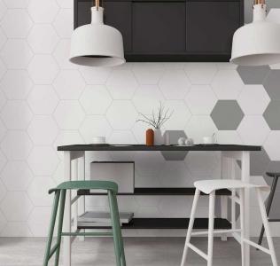 Gresie hexagonala Element