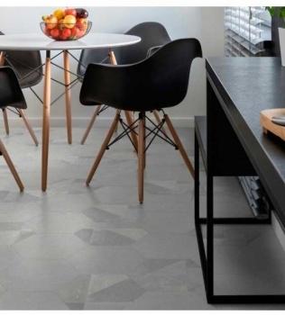 Gresie hexagonala tip beton Cento