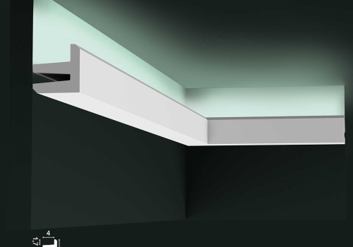 Cornisa banda LED Orac Decor