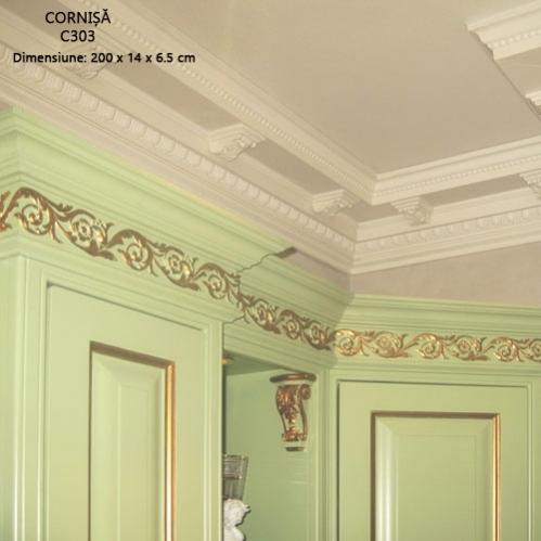 cornisa flexibila pentru tavan C303