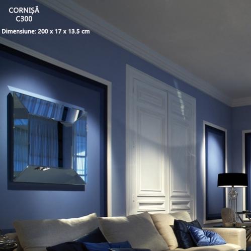 cornisa flexibila tavan C300