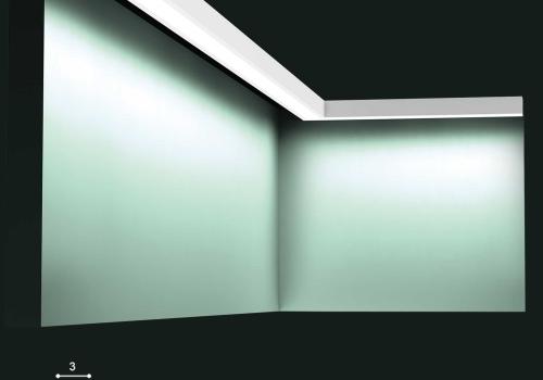 Profil pentru iluminat ambiental Orac Decor