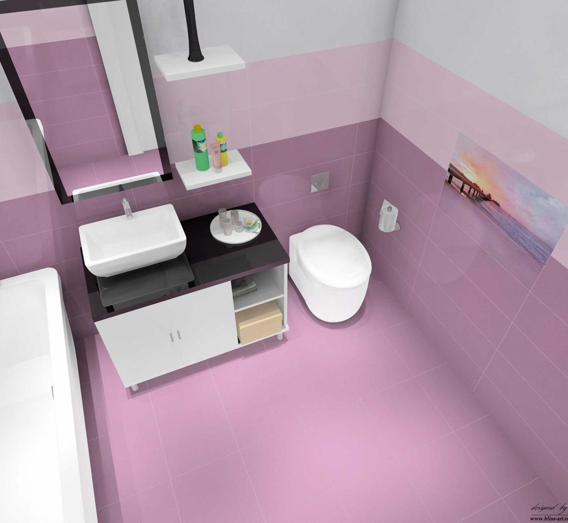 faianta-mov-pentru-baie-lavanda