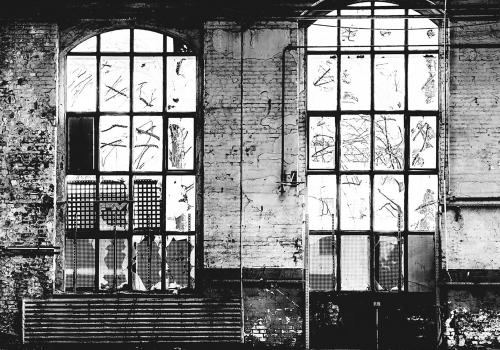 Fototapet stil industrial Factory 3