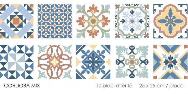 Gresie stil marocan Cordoba Mix