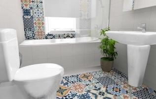 Gresie stil marocan in baie