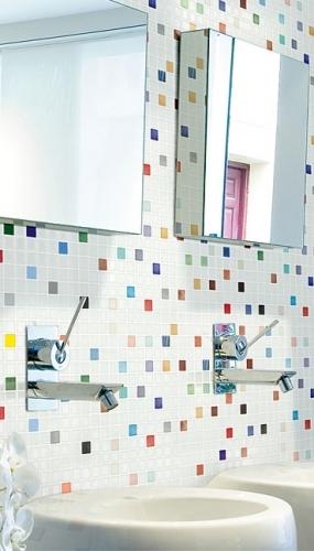 mozaic din sticla color mix joy