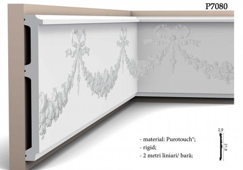Brau decorativ stil baroc Orac P7080