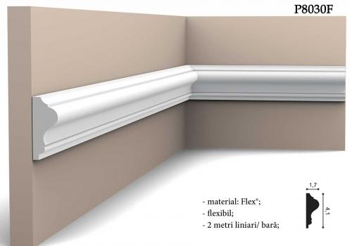 Bordura Orac alba flexibila P8030F