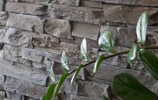 Beton decorativ tip piatra aparenta Basalto