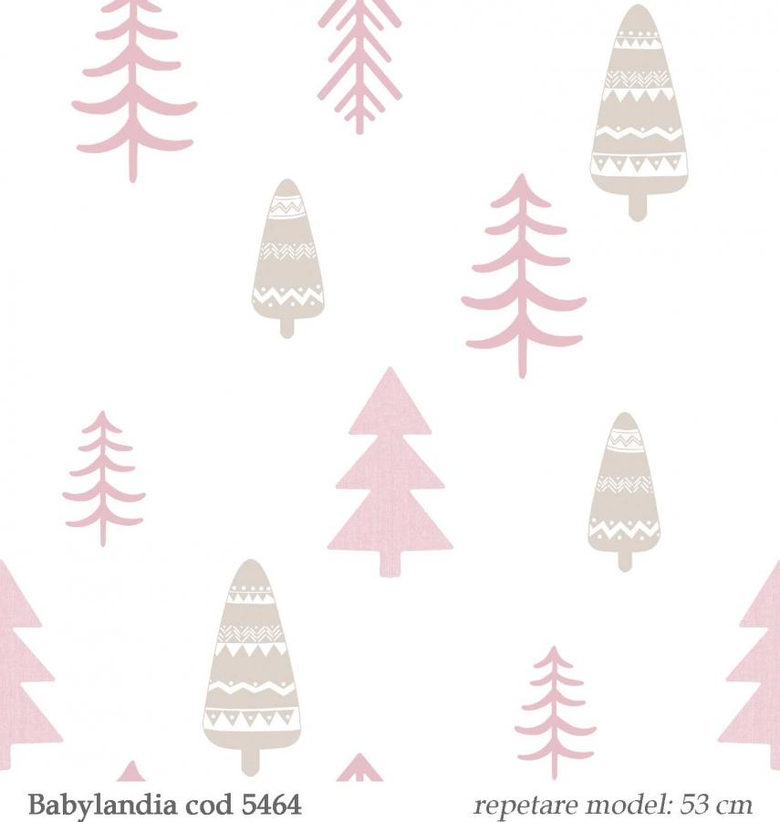 tapet-copii-model-copacei-gama-Babylandia-parato-cristiana-masi-cod--5464