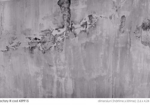 Tapet tip beton aparent stil industrial
