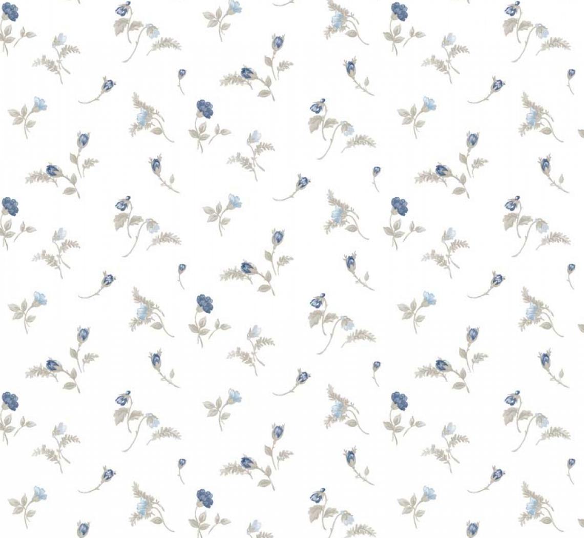 tapet-cu-flori-albastre-7506